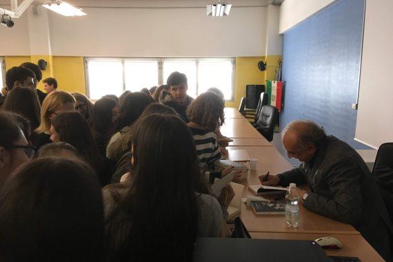 Un nuovo Ulisse: Giulio Guidorizzi incontra gli studenti del Liceo