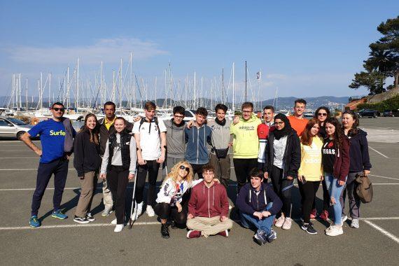 La 4A del Gigli salpa l'ancora: gli studenti del liceo velisti per tre giorni