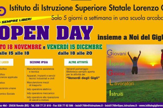 OpenDay al Gigli